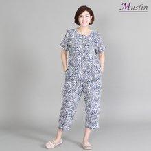 얼룩무늬 인견상하세트홈웨어 -HS1077- 모슬린 엄마옷