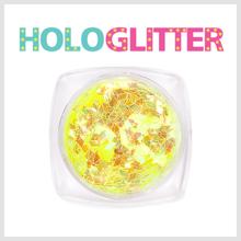 엘리카 홀로글리터 다이아2mm(오팔노랑) -H113-