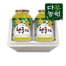 [다농원] 꿀청귤차1kg+1kg[안전포장]