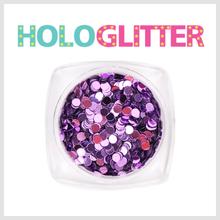 엘리카 홀로글리터 라운드2mm(퍼플) -H110-