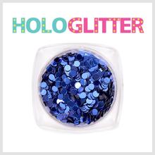 엘리카 홀로글리터 라운드2mm(딥블루) -H109-