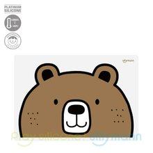 [실리만] 실리콘 어린이 식탁매트(곰) WSB264