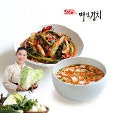 [식품명인 유정임의 명인김치] 열무얼갈이 2kg + 나박1kg