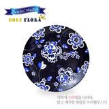 쯔비벨무스터 골드플로라 원접시 중형 블루라벨 1P