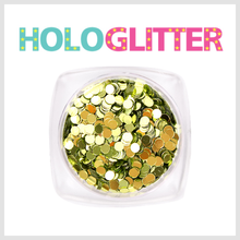 엘리카 홀로글리터 라운드2mm(올리브) -H106-