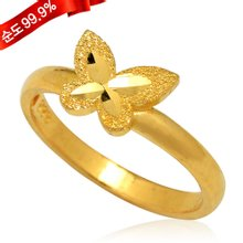 [골드모아]순금 반지 3.75g 24K [큐트 나비]