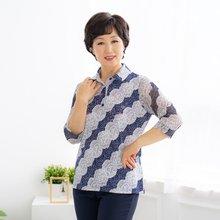 마담4060 엄마옷 레이스카라티셔츠-ZTE004060-