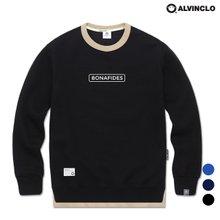 [앨빈클로] MAR-670 파이드 맨투맨 티셔츠