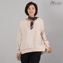 데일리맨투맨 티셔츠 -TS8022634-모슬린 엄마옷 마담