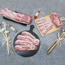친환경 무항생제 돼지고기 초록한돈 삼겹살 1kg (500g 2팩)