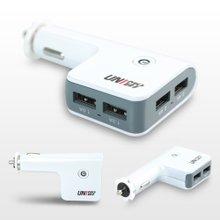 [TENEE] 유니모비 4포트 6.8A 차량용 USB 급속충전기 UM-C6800