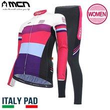 [MCN] 아르코 여성세트(긴팔+9부패드바지) 자전거의류