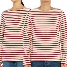 [세인트제임스] 밍콰이어 모던 스트라이프 9858 OU 남여공용 긴팔티셔츠