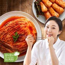 [김나운더키친] 서울식 생 포기김치4kg + 총각김치2kg