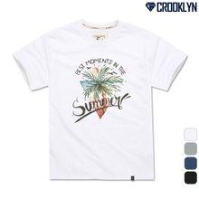 [크루클린] TRS-025 썸머 나염 반팔 티셔츠