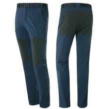 [파파브로]남자 가을 간절기 스판 캐주얼 운동복 츄리닝 등산 바지 SJ-PT8-77-블루