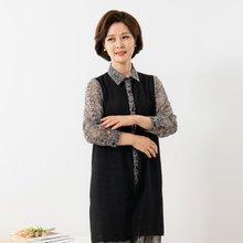 마담4060 엄마옷 이중시스루롱가디건-ZCA001002-