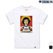 [크루클린] TRS-027 레트로 전사 나염 반팔 티셔츠