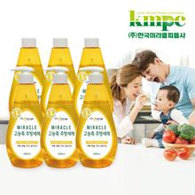 닥터오렌지 고농축 주방세제 세트 (6개)