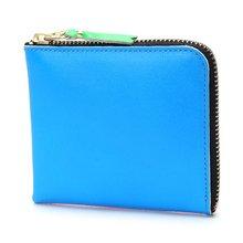 [꼼데가르송] 슈퍼 플루오 미니 SA3100SF ORANGE BLUE 여성 동전지갑