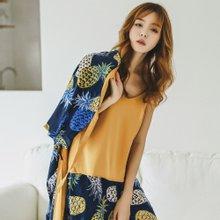 모스트2054 여성 유카타 잠옷 3종세트 (4type)