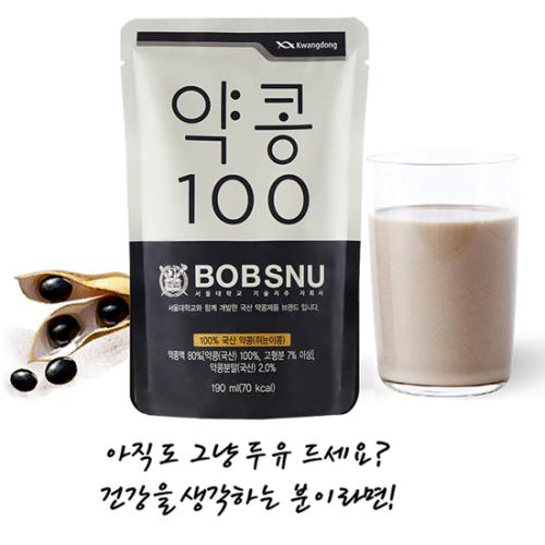 [서울대 공동개발] 프리미엄 약콩100 (3박스, 총 60+6봉)
