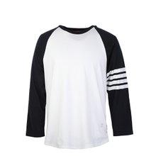 [톰브라운]20SS MJS112A 06221 415 베이스볼 사선 티셔츠 네이비