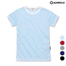 [앨빈클로]AST-3984 레이어드 스트라이프 티셔츠
