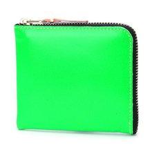 [꼼데가르송] 슈퍼 플루오 미니 SA3100SF BLUE GREEN 여성 동전지갑