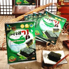 [대천청정맛김김] 파래맛김 10봉