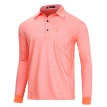 [파파브로]남성 국산 스트라이프 카라 티셔츠 LM-A9-528-오렌지