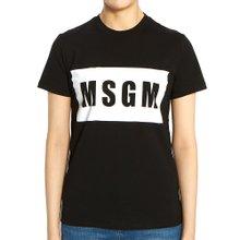 [엠에스지엠] 로고 2742MDM195 195797 99 여자 반팔티셔츠