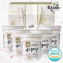 [토종마을]HACCP인증 오리지널곤약쌀 선물세트 (300g x 5개)