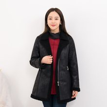 마담4060 엄마옷 주인공무스탕코트-ZCO912018-
