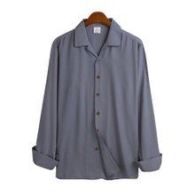 고스트리퍼블릭 루즈핏 오픈 카라 긴팔 셔츠 MSH-520