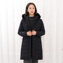 마담4060 엄마옷 오늘도따뜻해슬림후드점퍼-ZJP912017-