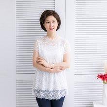 마담4060 엄마옷 은하수반팔티셔츠 QDTE904003