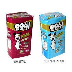 [요요쉬] 요요쉬 패드 소형 50매 1+1
