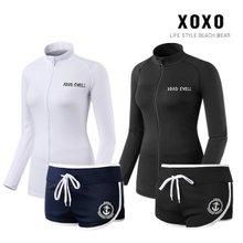 XOXO 베이직 여성 짚업자켓+비치팬츠 RA6139_RA022W