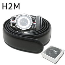 [H2M] 자동조절 표범 팔각 버클 남성 골프 벨트/골프용품_248367