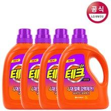 [테크] 실내건조 냄새제거 액체세제 3L x4개/세탁세제/빨래세제