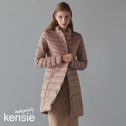 [켄지] KENSIE 19FW 브리즈 울트라 라이트 헝가리 구스 100% 롱 다운 (From NewYork)
