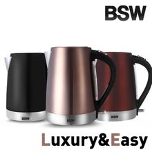 [BSW]1.7L 대용량 컬러 무선 전기주전자 BS-1520-KS 전기포트