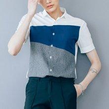 [단군] 모스사선배색셔츠