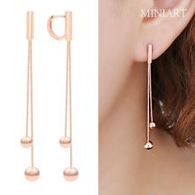 피에르 14K GOLD 원터치 귀걸이
