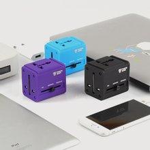 [Travel Mate] 잭큐브 멀티아답터 USB 2포트(ADT-100)