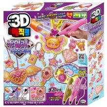 [미미월드] 3D매직펜 주얼리디자이너 3색
