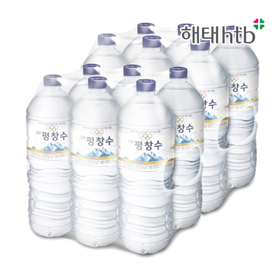 [해태음료] 올림픽공식 강원평창수 (2L x 6페트) x 2세트