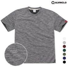 [앨빈클로]AST-3518 카누 자카드 반팔 티셔츠