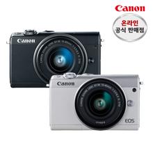 캐논 EOS M100+15-45+22mm 더블킷+고래파우치+SD16G+리더기